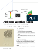Airborne Weather Radar