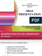 OIS07 Effective Oral Presentation