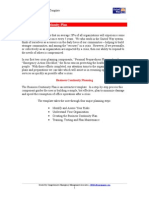 D.2 - Business Continuity Plan Document