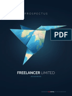 Freelancer Limited Replacement Prospectus - 21 Oct 2013