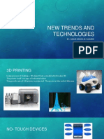 New Trends and Technologies