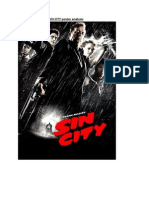 SIN CITY Poster Analysis