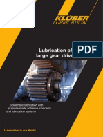 Lubrication of Large Gear Drives