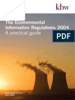 The Environmental Information Regulations 2004_A Practical Guide