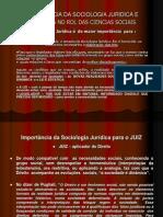 Slide - Importância Da Sociologia Jurídica - 1ª Aula