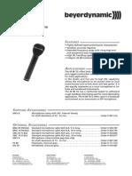 m88 microphone data sheet