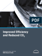 Improved efficiency and reduced co2
