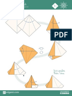 Origami Star Diagram - Robin Star on