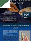 Reducing the Trauma of Atrial Septal Defect Repair
