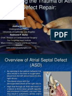 Reducing the Trauma of Atrial Septal Defect Repair