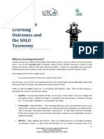 PRIMER on Learning Outcomes
