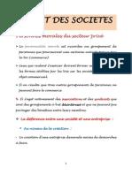 Droit Des Societe1ere Partie PDF