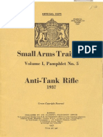 Small Arms Training Vol. I Pamphlet No. 5 Anti-Tank Rifle 19