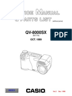 CASIO QV-8000SX Digital Camara Sm