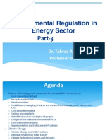 Part-3 Lecture- Environmnetal Regulation in Energy Sector