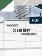 Ocean Grey Nasa Technical Binder