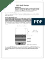 Basics of Multi Media Filtration Mmf