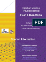 Injection Molding Troubleshooting Flash Burnmarks