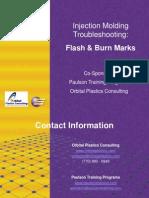 Injection Molding Troubleshooting Flash Burnmarks