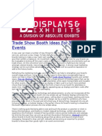 Trade Show Booth Ideas for Your 2014 Events