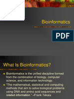 An Introduction on Bioinformatics