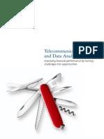 Deloitte Telecommunications Data Analytics July2012