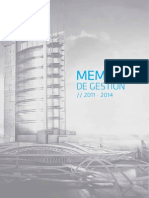 Memoria de Gestión Colegio de Arquitectos del Perú - Region La Libertad