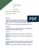 Questionslist Q&A sessiion 13-01-2009