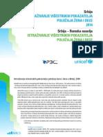 Istraživanje višestrukih pokazatelja položaja žena i dece u Srbiji, 2014