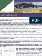 """Crónicas Vego-Palmenses. Crónica 1 """"Sobre su Fundación"""""""