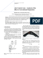 Composite Control Arm - Aplicability on Conventional Suspension