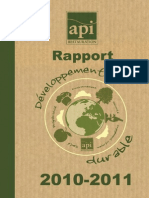 Rapport api restauration2010-2011