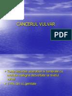 CANCERUL VULVAR