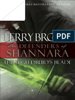 The High Druids Blade by Terry Brooks, 50 Page Fridays