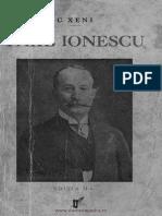 Take Ionescu, C. Xeni