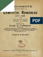 Documente Privitoare La Comertul Romanesc 1473-1868, D. Furnica