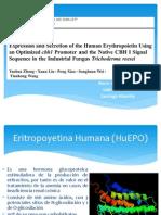 Eritropoyetina en Trichoderma Reesei