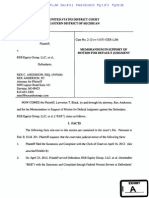 Black v RSB Equity Group FDCPA Memorandum in Support of Motion for Default Judgment.pdf