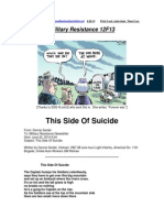 Military Resistance 12F13 This Side of Suicide