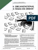 Texto 1 - Cultura Organizacional - Freitas