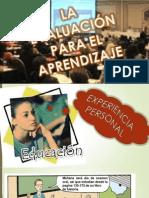 La Evaluación Para El Aprendizaje Presentacion Terminada...