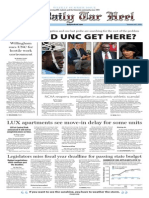 The Daily Tar Heel Weekly Summer Edition for July 3, 2014