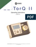 EZ-TorQ II Operation Manual
