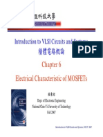 [06] Chapter06_Electrical Characteristic of MOSFETs