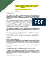 Reglamento Ley de Nepotismo - DS-201-2000-PCM