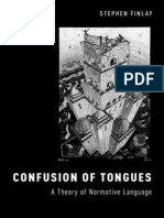 Confusion of Tongues a Theory of Normative Languag