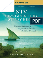NIV First-Century Study Bible Sampler