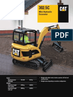 CAT 302.5C Mini Hydraulic Excavator