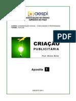 Apostila01 Criacao Publicitaria Criacao_Publicitaria Apostila01