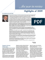 2009 Annual Review